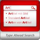 Type-Ahead-Suche