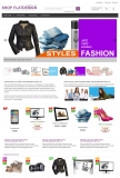 xt:Commerce Template Flatlook Lila Flatdesign