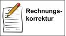 Rechnungskorrektur & Gutschrift