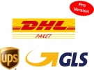 DHL-, GLS- und UPS-Versandplugin