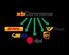 DHL, GLS, DPD und UPS - Versandplugin
