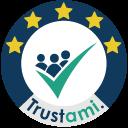Siegel für Shop Bewertungen + Google Sterne | Trustami